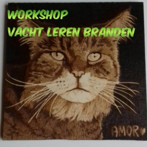 Workshop Pyrografie Vacht 21 november 2020
